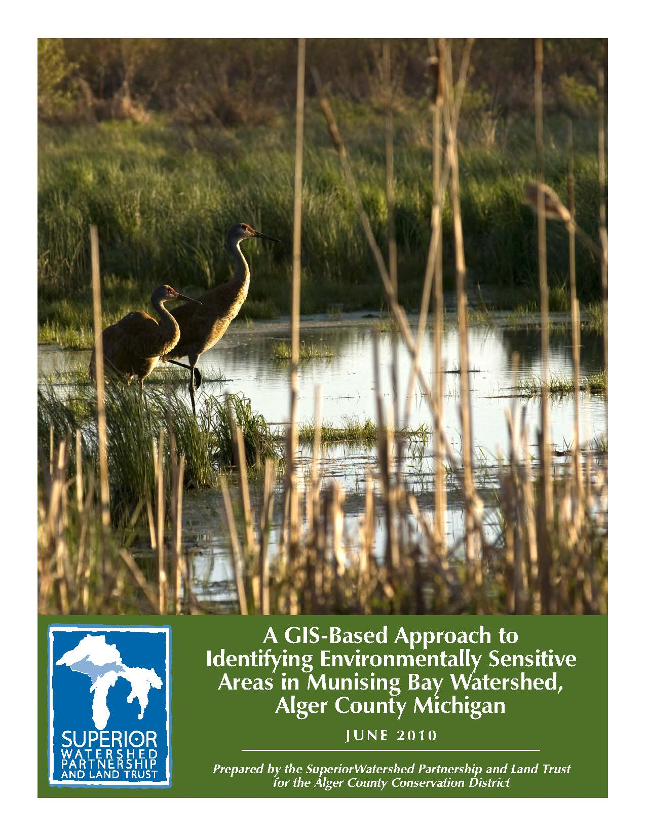 Michigan alger county munising - Munising Bay Final Report Cover
