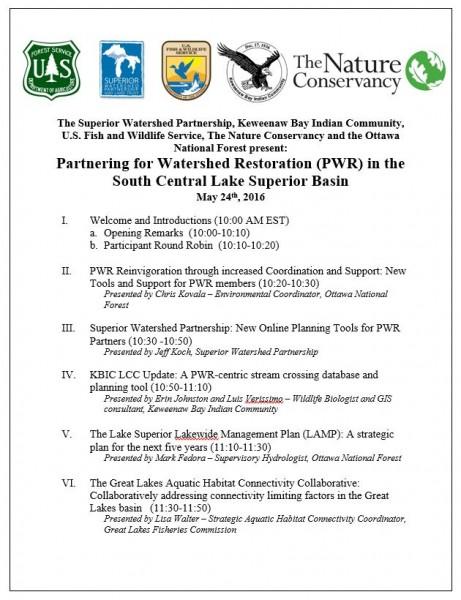 PWR agenda