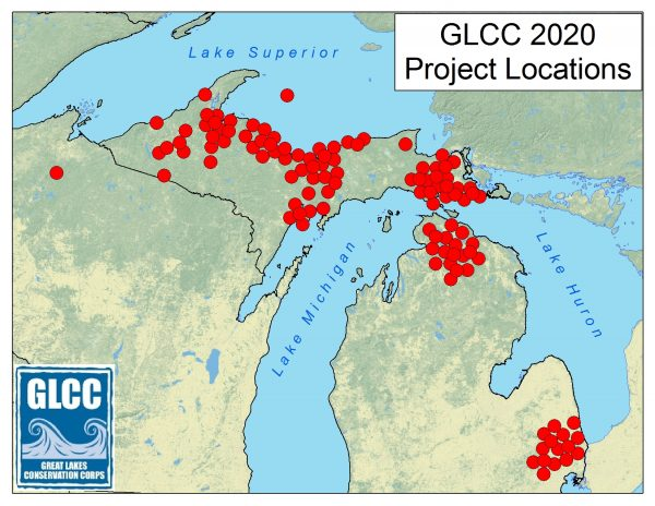 GLCC 2020 Projects General Locations